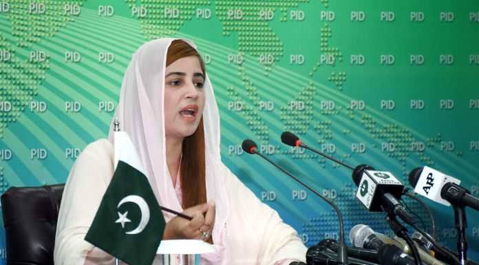 Source: PID - Minister of State for Climate Change Zartaj Gul