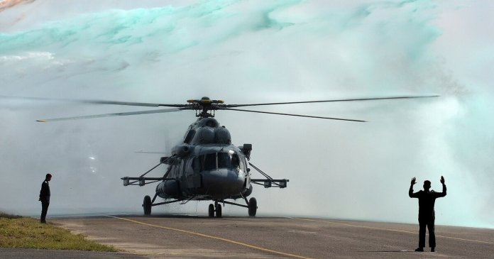 Indian Helicopter (Source: ARY Times)
