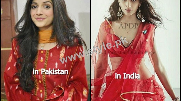 Source: style.pk - Pakistani and Indian Models difference