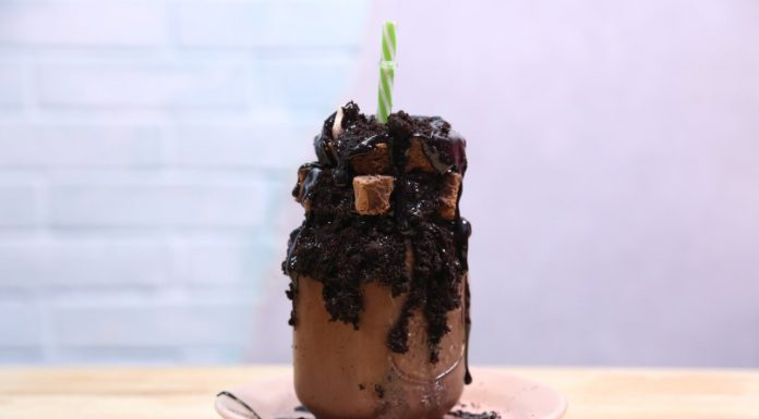 Picture: Special kind of Chocolate Shake that most people like