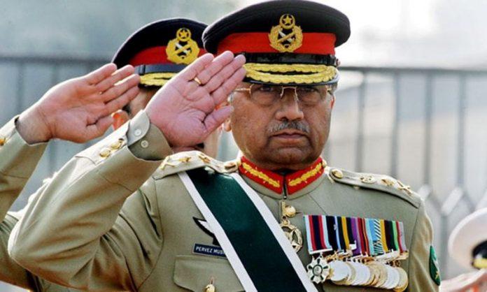 Former COAS of Pakistan, Gen. Retd Pervez Musharraf