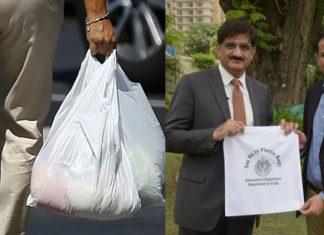 CM Murad Ali Shah photo session over Plastic ban campaign