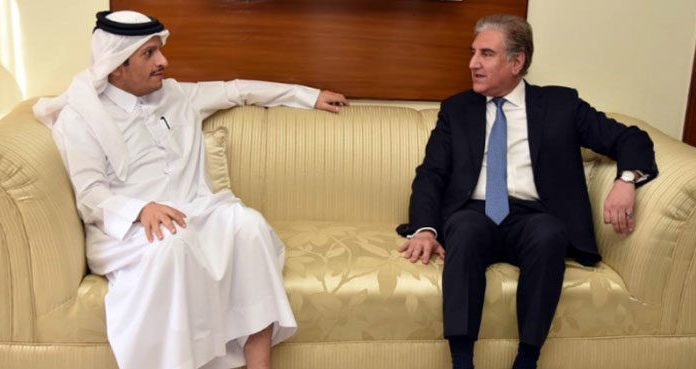 SOURCE: DAWN.COM FM Qureshi discusses regional peace with Qatari counterpart