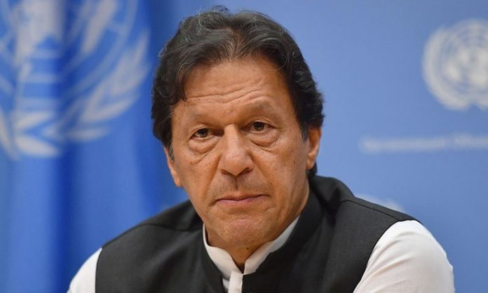 Imran Khan stated the international community to take on violence.