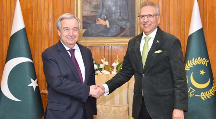 President Alvi desires to play role against 'Islamophobia'