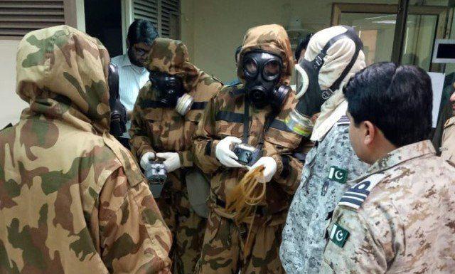 Toxic gas leaked in keamari.