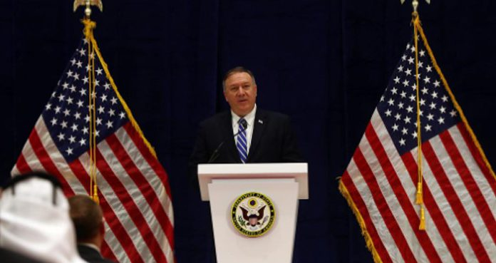Pompeo hoped that negotiations would begin in the coming days.
