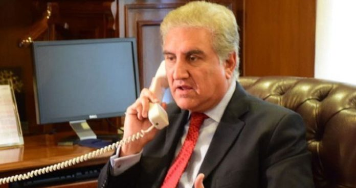 FM Qureshi held a telephonic conversation with his 'UAE' counterpart, to discuss COVID-19.