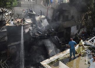 Deadly 'PIA' flight crash in K-Town.
