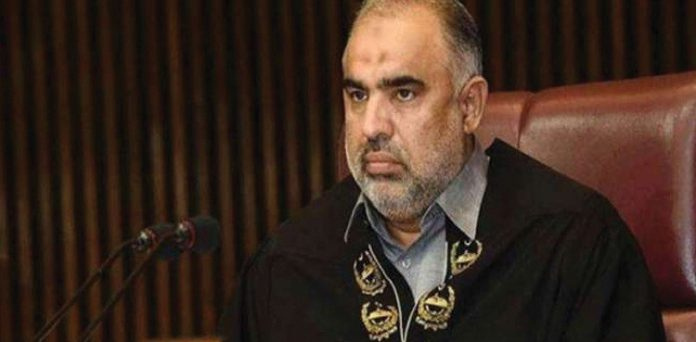The National Assembly (NA) Speaker Asad Qaiser has gone into isolation.