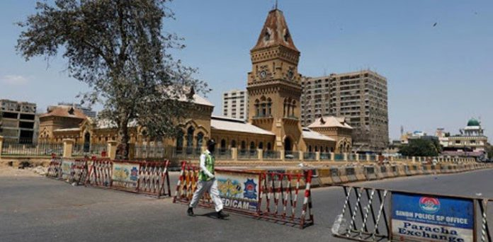 The Sindh government announced to impose three-day complete lockdown.
