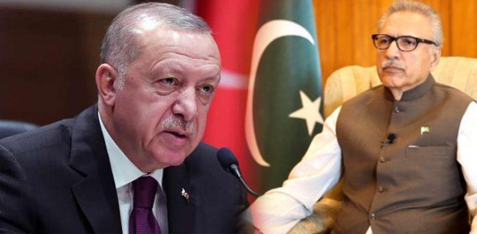 Turkish President Erdogan telephoned President Alvi on Eid to condole the national tragedy flight crash.