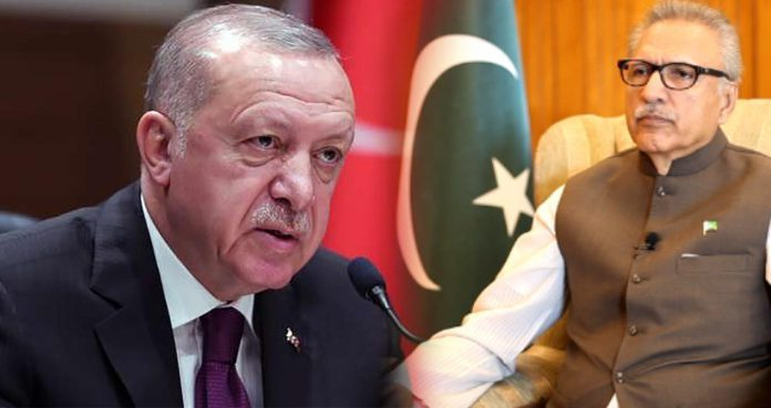 Turkish President Erdogan telephoned President Alvi on Eid to condole the national tragedy flight crash.
