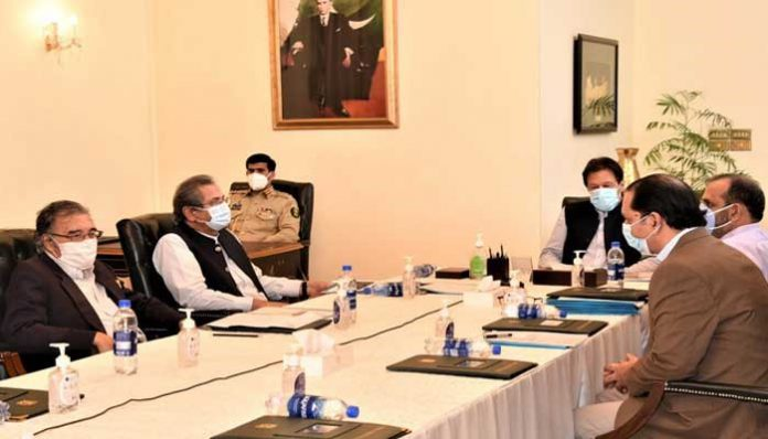 Prime Minister Imran Khan chairs a meeting on promotion of Knowledge Economy.