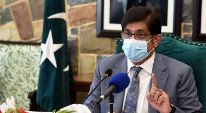 CM Murad Ali said that the provincial govt launched 24 projects worth Rs802.39 billion in the city.