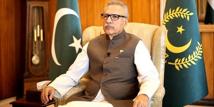 Distance education will help country develop its human resource. President Alvi