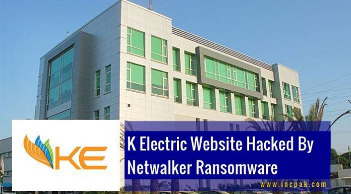 Pakistan's largest private electricity provider, K-Electric, hit by Netwalker ransomware.