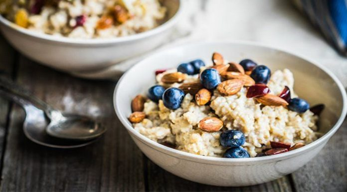 Porridge loaded with healthy fiber and micro-nutrients benefits your overall health.