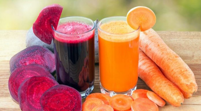 Carrot and beetroot juice is beneficial to stop many deadly diseases.