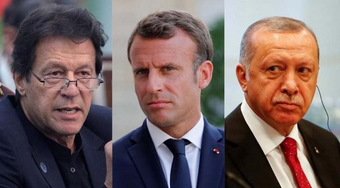 French President Macron accusing Muslims of separatism and support disrespectful cartoons.