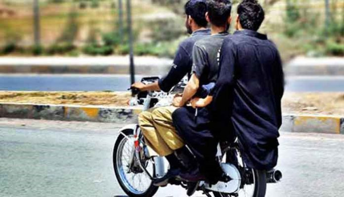 Government of Sindh ease the ban on pillion riding in Karachi.