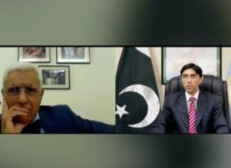Mooed Yusuf said that Pakistan has proof of India's involvement in terrorist attacks in Pakistan.