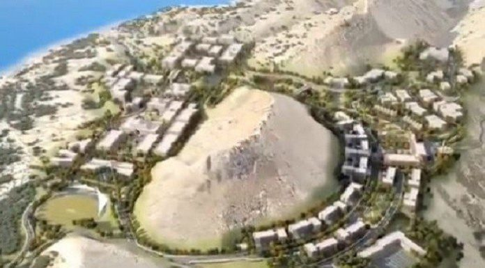 PM Imran presented the NAMAL knowledge city's master plan in Mianwali, designed by Tony Ashai.