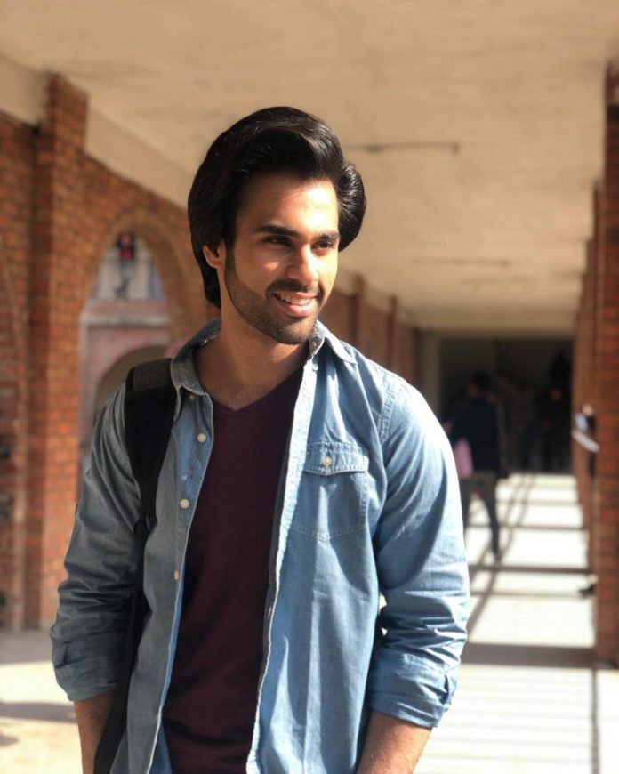 Rising star Ameer Gilani, released his first song name Sabaat.