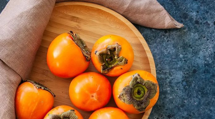 The delicious fruit persimmon filled up with full of pulp and has interesting advantages.