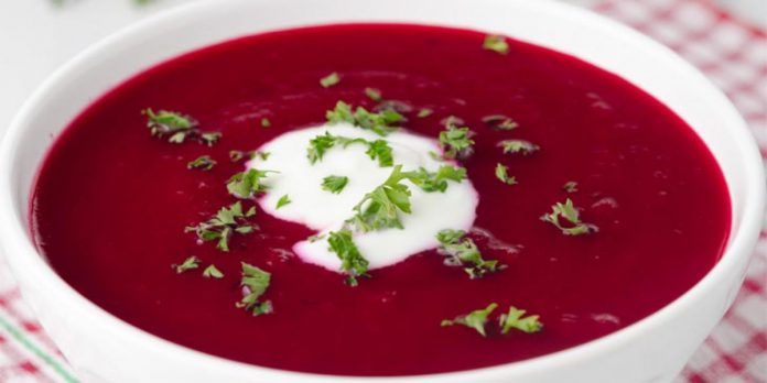 In this winter season carrot & beetroot soup will solve hair and skin problems.