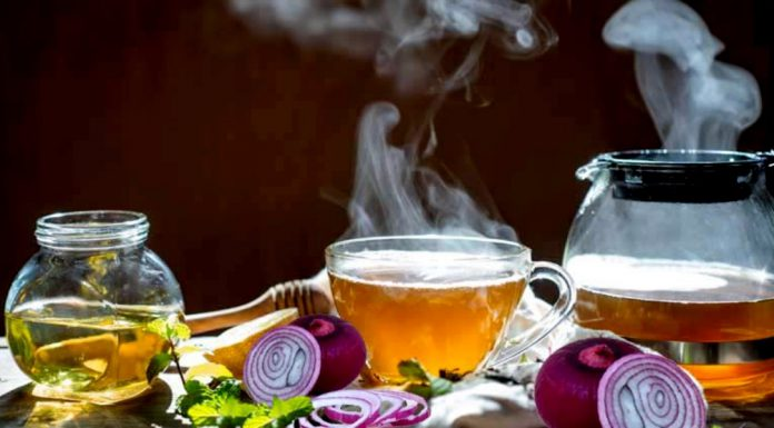 Onion tea is best to boost immunity and to feel relief in this winter season.