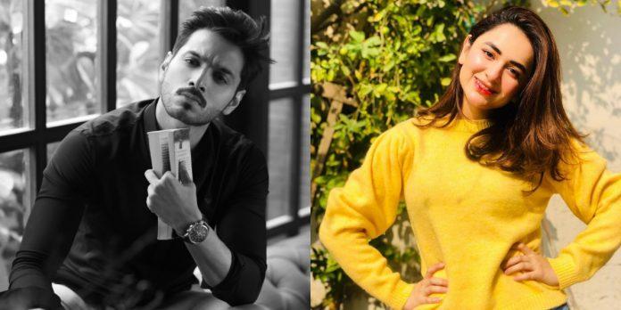 Wahaj Ali & Yumna Zaida for the first time working together in drama serial.