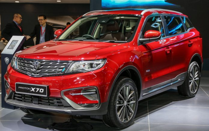 Proton X70 will launched in Pakistan in two form 'AWD' and 'FWD'.