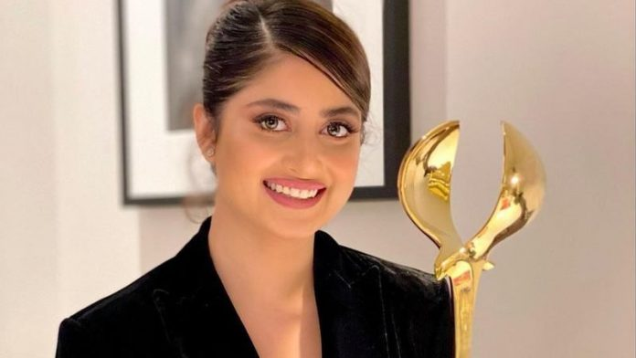 Sajal Aly was being known on an international platform 'DIAFA'.