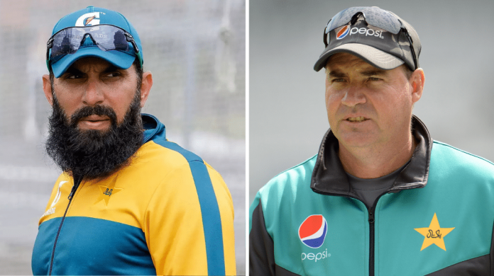 Comparison on Worst Pakistan's Coach Misbah or Mickey