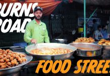 New Food Street in Burns Road, Karachi Opening