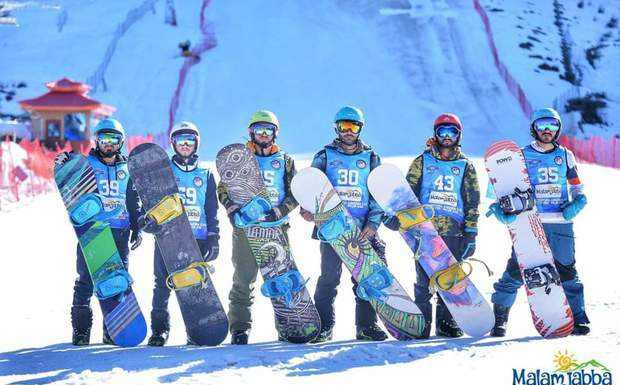 Time for Snowboarding and Festivals in Malam Jabba