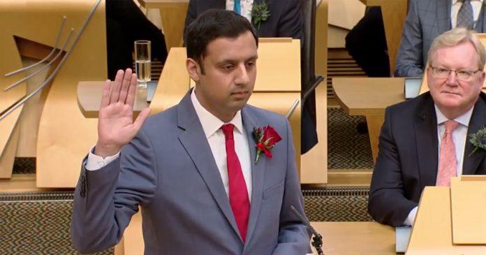 Anas Sarwar, The first Muslim, declared as a leader of Scottish Labour.