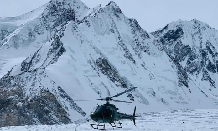 Government trying best efforts to find Sadpara and other two climbers.