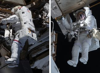 Nasa astronauts complete power upgrades for space station