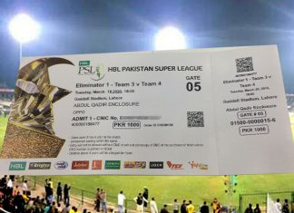 PSL 6 tickets now available pre-book online for upcoming matches
