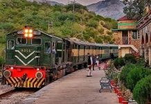 Pakistan Railways launched Safari Train to promote tourism.