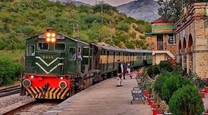 Pakistan Railways launched Safari Train to promote tourism.