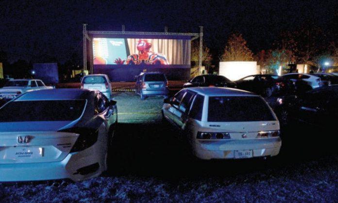 Jazz Drive-In Cinema Starts Screening in Bahria-Town Karachi