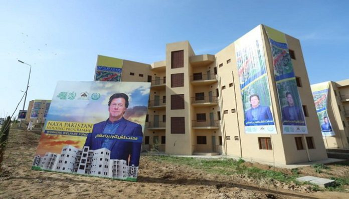 Naya Pakistan Housing project, houses and flats are allotted to Labourers.