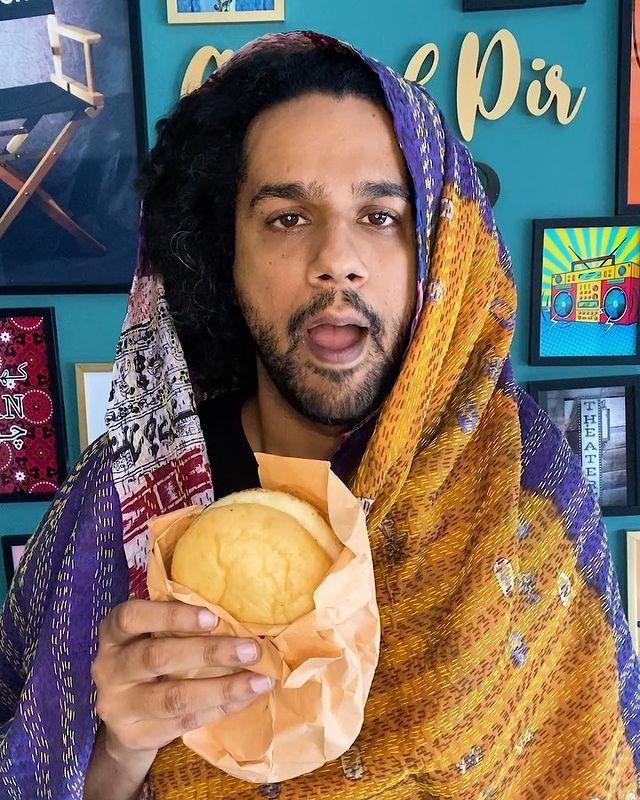 "Artist Ali Gul Pir Mimics Hina Altaf For Her Missing ""Andy wala Burger"""