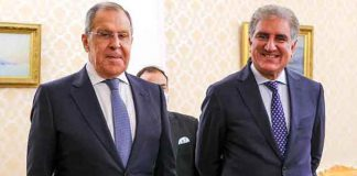 Lavrov, Russian FM, to Arrive Pakistan-2 day Official Visit