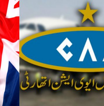 Pakistan Civil Aviation Authority ease limitation in travel for the UK.