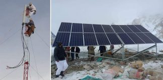 Pakistan Installs first Mobile Phone Tower At Base Camp of K2 - 2021