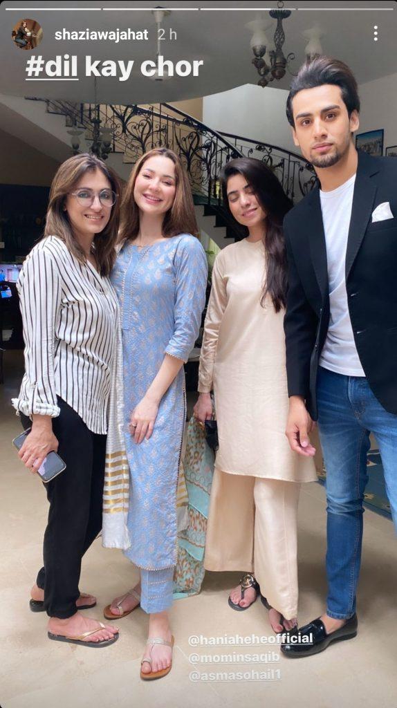 Shazia Wajahat Casts Momin Saqib & Hania Amir in Her New Production